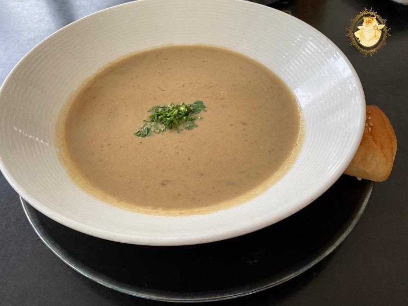 Trintų baravykų sriuba - 3,99 eur.