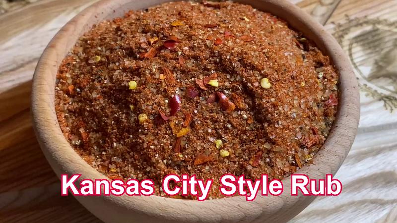 Kanzaso sausas marinatas. Kansas City Style Rub