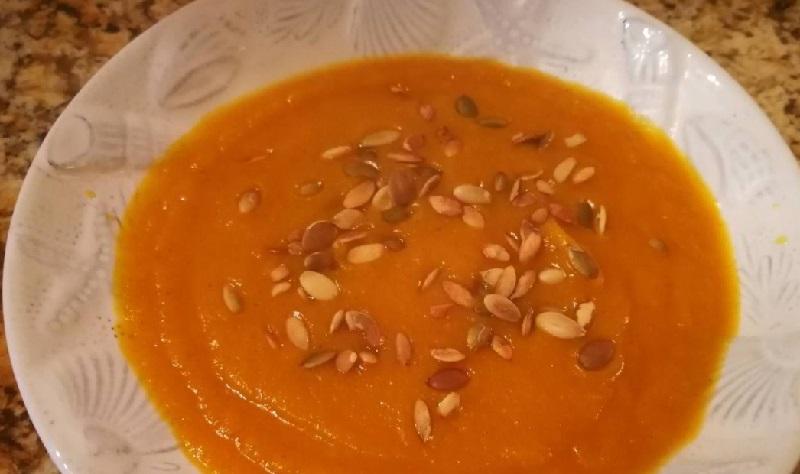 Trinta moliūgų sriuba. Svarbi sąlyga, kad ji būtų tikrai skani