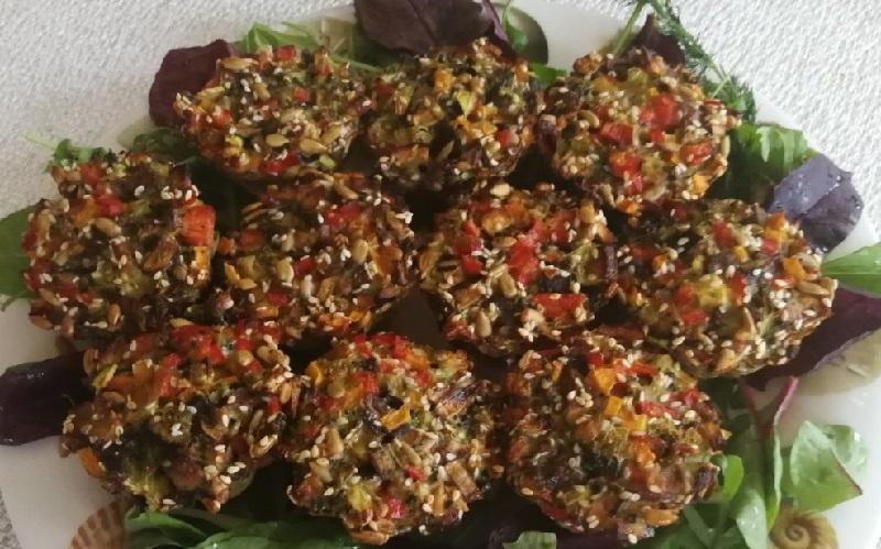 Puikaus skonio daržovių keksiukai pavyks net ir virtuvės naujokams